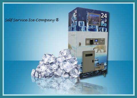 Màquina expendedora de hielo