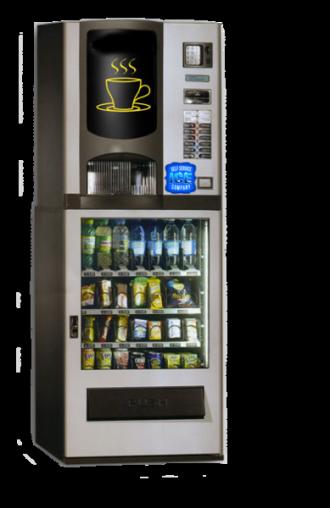 Distributore automatico caffè, snacks