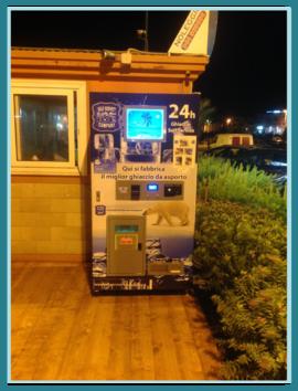 Ice Vending Machines, Distributore Self Service Ghiaccio