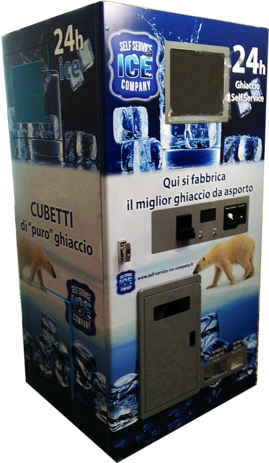 Ice Vending Machines, Ice Vending Italia, Ice Vending Italy, Ice Vending Machines Italy