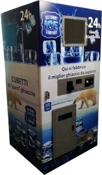 ice vending machines, distributore automatico di ghiaccio