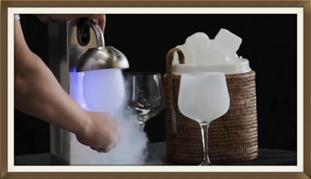 Congela bicchieri istantaneo, Ghiaccia Bicchieri, froster glass