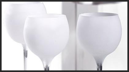 Congela bicchieri, froster glass