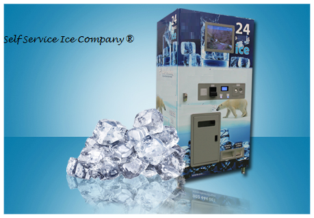 Distributore Automatico di Ghiaccio, ice vending machines, ice machines, ice self service