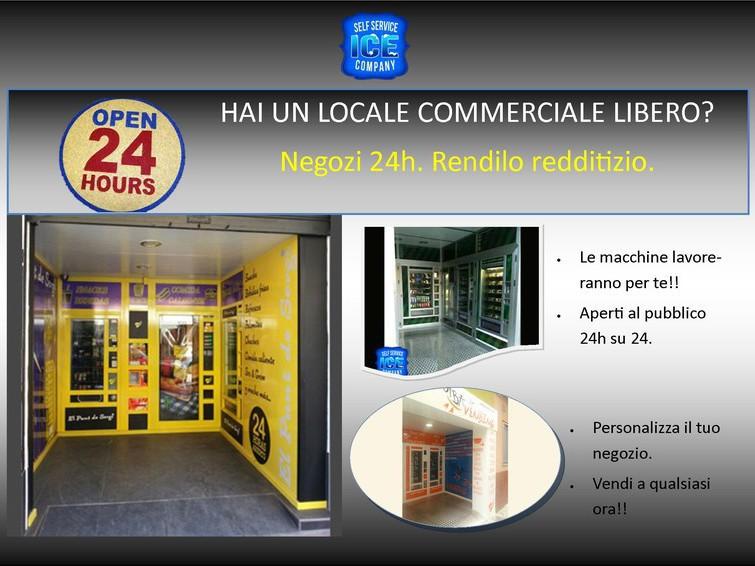 Open Shop 24 ore, Negozio Automatico