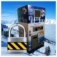 Distrubutore Automatico di ghiaccio sicure